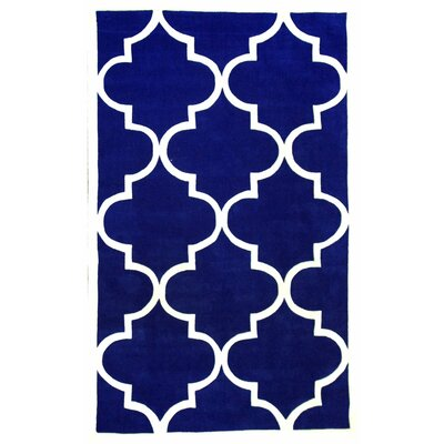 Sabatini Pacific Blue Area Rug Rug Size: Rectangle 5 x 8