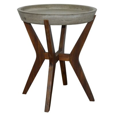 Braylee Concrete Side Table