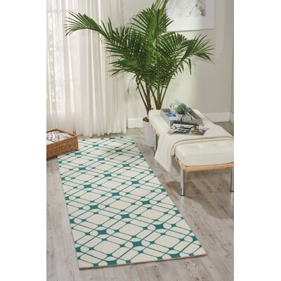 Anders Ivory Area Rug Rug Size: Runner 26 x 8