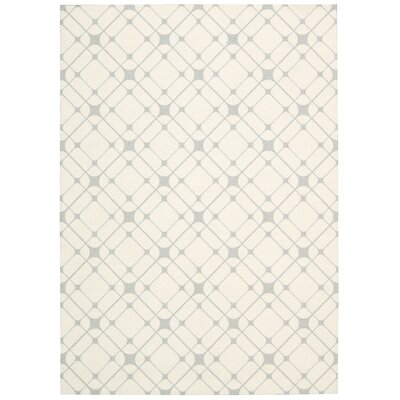 Vanderburg Ivory Neutral Area Rug Rug Size: Rectangle 4 x 6