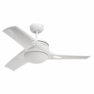 38 Beaton Ceiling Fan with Wall Remote Finish: White
