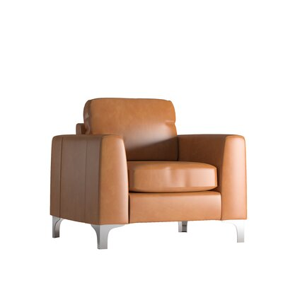 Shupe Club Chair Upholstery: Caramel