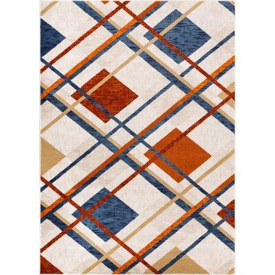 Shuff Tartan Beige Area Rug Rug Size: 710 x 910
