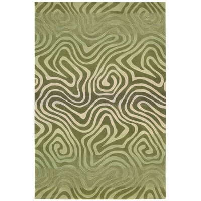 Sharna Avocado Area Rug Rug Size: 36 x 56