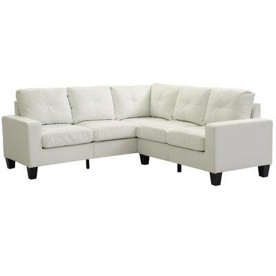 Melantha Sectional Upholstery: Off-White