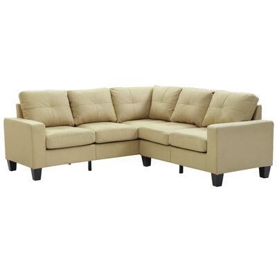 Tiff Sectional Upholstery: Beige