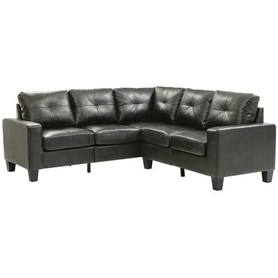 Tiff Sectional Upholstery: Black