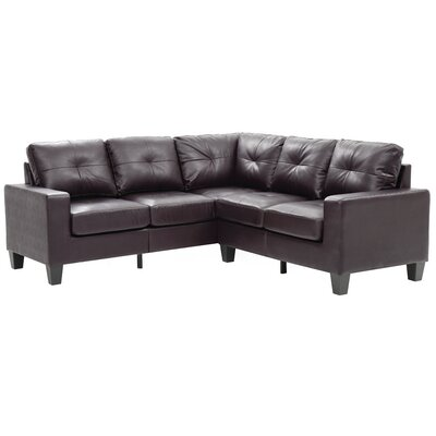 Tiff Sectional Upholstery: Cappuccino