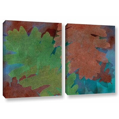 Indian Summer 5 2 Piece Graphic Art on Wrapped Canvas Set Size: 18