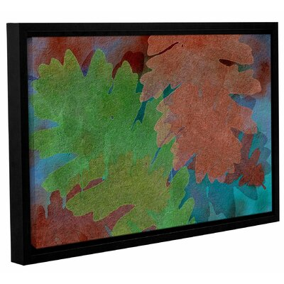 Indian Summer 5 Framed Graphic Art on Wrapped Canvas Size: 12