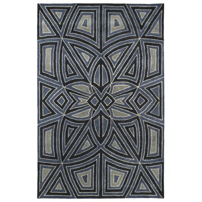Devereaux Hand Tufted Gray Area Rug Rug Size: Rectangle 96 x 13