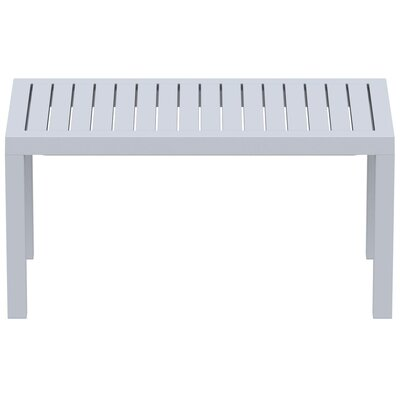 Villani Coffee Table Finish: Silver Gray