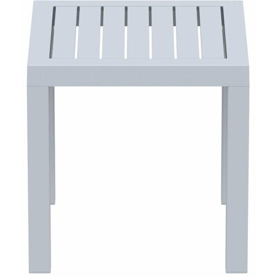 Villani Side Table Finish: Silver Gray