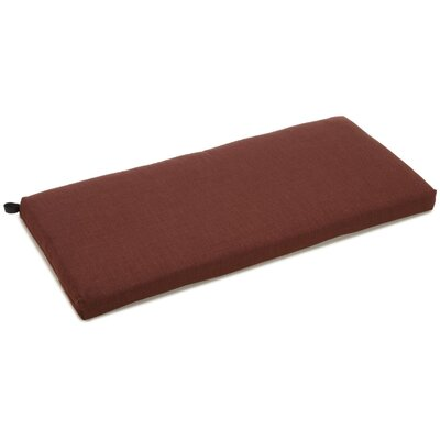 Bench Cushion Color: Cocoa