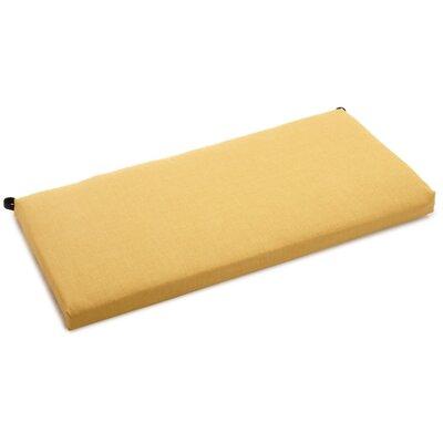 Bench Cushion Color: Lemon