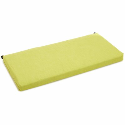 Bench Cushion Color: Lime