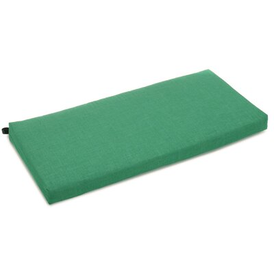 Bench Cushion Color: Emerald