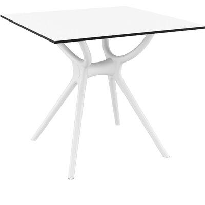 Curnutt Square Bistro Table Finish: White