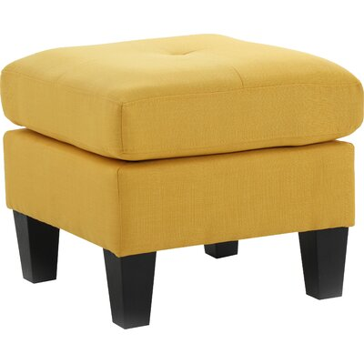 Tiff Ottoman Color: Yellow