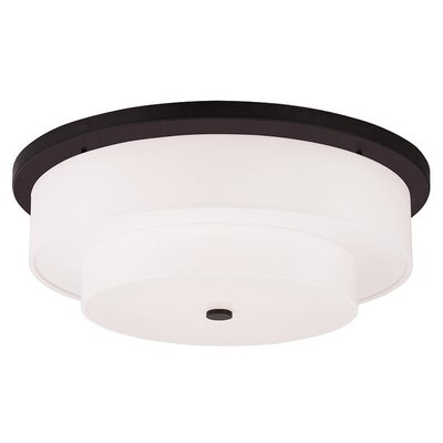 Alina 5-Light Flush Mount Finish: Bronze