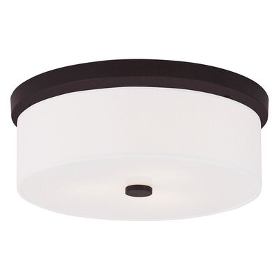 Alina 3-Light Flush Mount Finish: Bronze