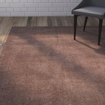 Blackstock Dark Beige Area Rug Rug Size: Rectangle 67 x 92