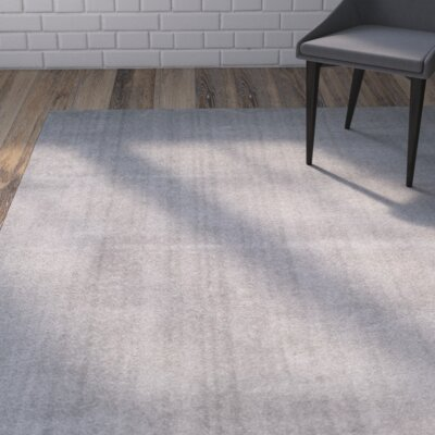 Blackstock Light Gray Area Rug Rug Size: 67 x 92