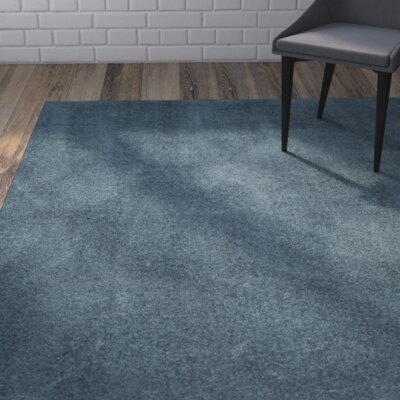 Blackstock Light Blue Area Rug Rug Size: Rectangle 9 x 12