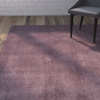 Blackstock Violet Area Rug Rug Size: Rectangle 67 x 92