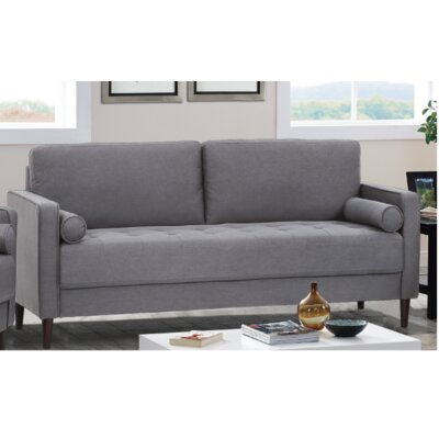 Garren Sofa Upholstery: Heather Gray