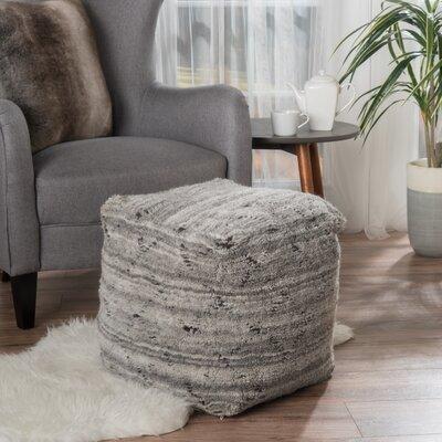 Amoroso Pouf Upholstery: Gray