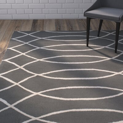 Summers Gray Indoor/Outdoor Area Rug Rug Size: Rectangle 4' x 6'