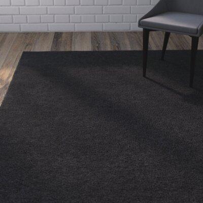 Bennette Black Area Rug Rug size: 2 x 3
