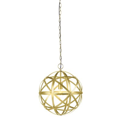 Alonzo 1-Light Globe Pendant