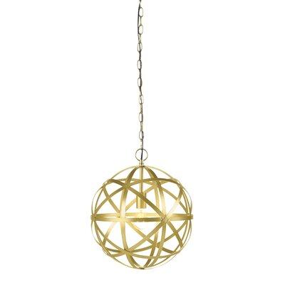 Alonzo 1-Light Globe Pendant