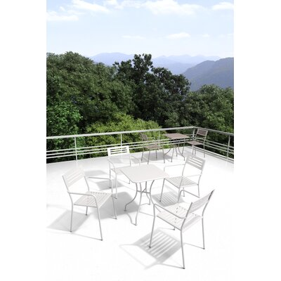 Delafuente 5 Piece Patio Dining Set