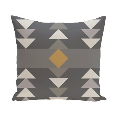Sosa Geometric Print Throw Pillow Size: 18 H x 18 W, Color: Aqua