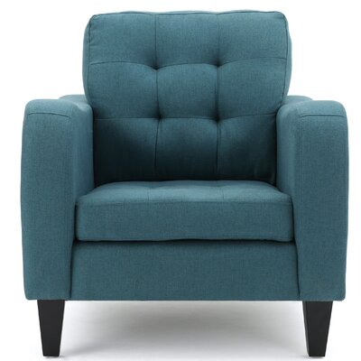 Deleon Fabric Armchair Upholstery: Dark Teal