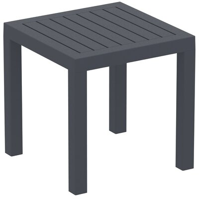Villani Side Table Finish: Dark Grey