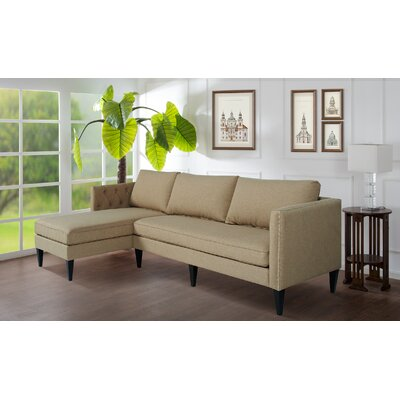 Kresge Sectional Upholstery: Incense Tan