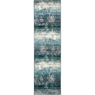 Brayden Blue Area Rug Rug Size: Runner 3 x 10
