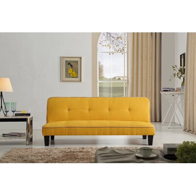 Raskin Sleeper Sofa Upholstery Color: Yellow