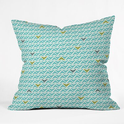 Spence Take Flight Indoor/Outdoor Throw Pillow Size: Small