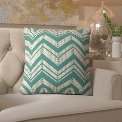 Spence Weathered Indoor/Outdoor Throw Pillow Size: Small