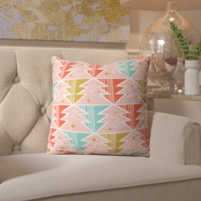 Trim A Tree Chill Throw Pillow Size: 16 H x 16 W x 4 D