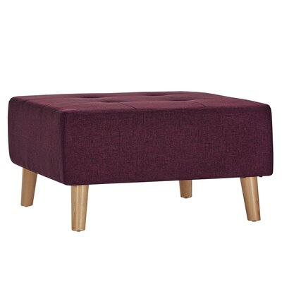 Alley Ottoman Upholstery: Tawny Port