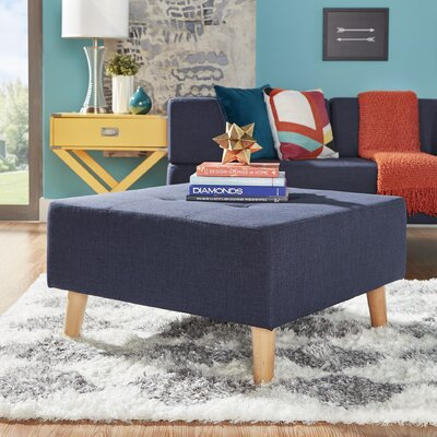 Alley Ottoman Upholstery: Twilight Blue