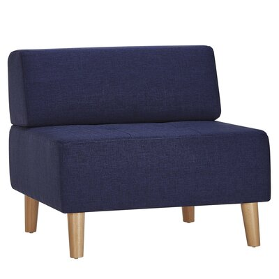 Alley Lounge Chair Upholstery: Twilight Blue