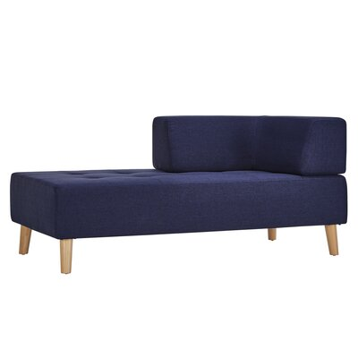 Alley Chaise Lounge Upholstery: Twilight Blue