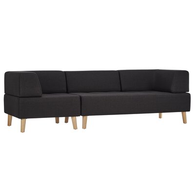 Alley Sofa Upholstery: Dark Gray